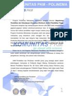 Proposal Pengajuan PKM