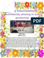 Taking Responsibility & Confidently Sharing in Our Gardening! March2014