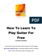 Learn Guitar for Free