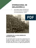 EL DÍA INTERNACIONAL DE LOS TRABAJADORES (I)