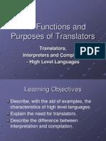 Translators Interpreters and Compilers