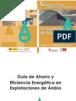 Guia de Ahorro y Eficiencia Energetica en Canteras Fenercom 2011
