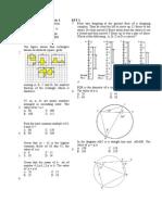 PMR Model Test Paper 1 Set 1