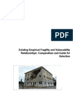 Existing Empirical Fragility and Vulnerability Relationships - Compendium and Guide for Selection - Final