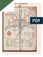 London – Underground 1989
