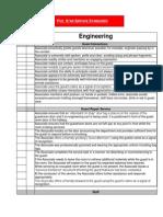 5 Star Service Standards - Engineering Department