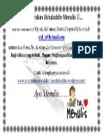 Gerakan Ushuluddin Menulis.docx