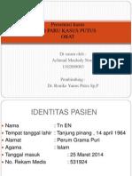 Presentasi Kasus Dr RONI SpP[1] Lupitong