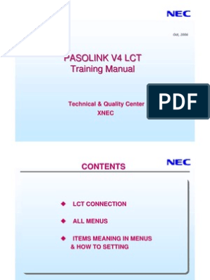 LCT for Pasolink   Computer Terminal   Electronics