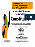 Free Constitution Lecture Series