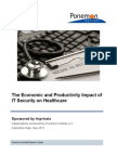 Ponemon Economic Producivity Impact