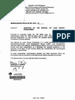 Lmb Manual on Survey Procedures