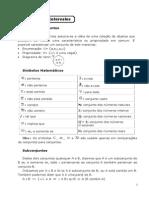 Conjuntos e Intervalos + Exercicios