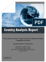 country analysis report - mexico
