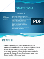 PPT HIPONATREMIA