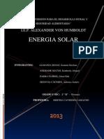 Energia Solar Aplicada