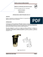 Prctica 5 de Control de Robots Software de Operacin Del Robot