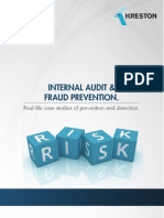 Findings on fraud and error in financial statements