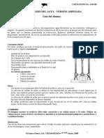 Electrolisis Del Agua Alumno