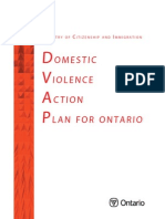 Domestic Violence Action Plan