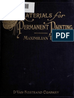 Materials for Permanent Painting