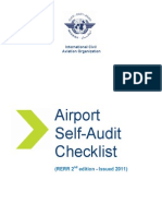 ICAO Self Audit Checklist for Airports