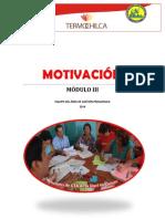 Lectura 3 Secuencia Didáctica Motivación