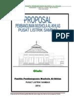 Proposal Pembangunan Mushola Pls