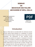 behaviour of Infill walls