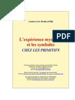 Levy-Bruhl - L Experience Mystique Et Les Symboles