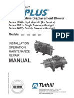 Blower TUTHILL Manual