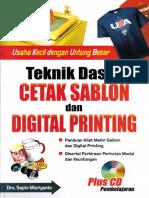 1742_Teknik Dasar Cetak Sablon Dan Digital Printing