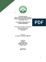 Group 3 (Itaralde,Macalino, Pabalan ) Hayden - Case Study