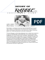 Scrabble History