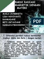 INTERAKSI RADIASI ELEKTROMAGNETIK DENGAN MATERI.pptx