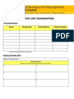 ROADMAPPING FORM - Departments, Committees and Offices