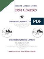 HNOC Easter Rollerski Courses