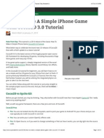How To Make A Simple iPhone Game with Cocos2D 3.0 Tutorial | Ray Wenderlich.pdf