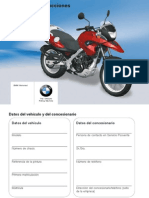 Manual Usuario BMW G650GS