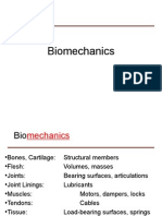 Class 08-1 Biomechanics