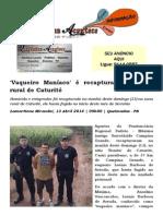 'Vaqueiro Maníaco' é recapturado na zona rural de Caturité