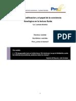 La decodificación y el papel de la conciencia fonológica en la lectura fluida