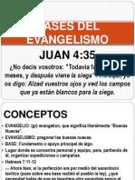 Bases Del Evangelismo