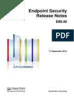 CP E80.40 ReleaseNotes