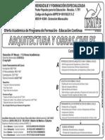 Arquitectura y Obras Civiles 2014