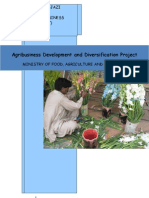internship report Agribusiness Development and Diversification Project)