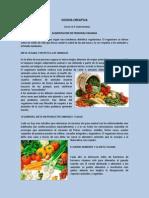 Cocina Creativa -Tarea 6