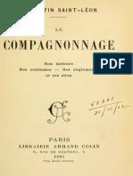 Le Compagnonnage- Rites Et Histoire