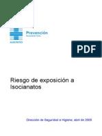 RIESGOS EXPOSICION ISOCIANATOS
