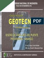 Camara de Anclaje Del Puente Yanango